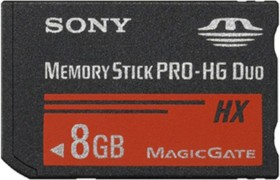 Sony Memory Stick [MS] Pro-HG Duo 8GB (MSHX8B)