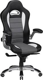 Amstyle Racing Bürostuhl, schwarz/grau (SPM1.237)