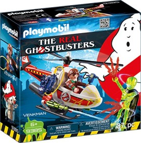 playmobil Ghostbusters - Venkman mit Helikopter (9385)