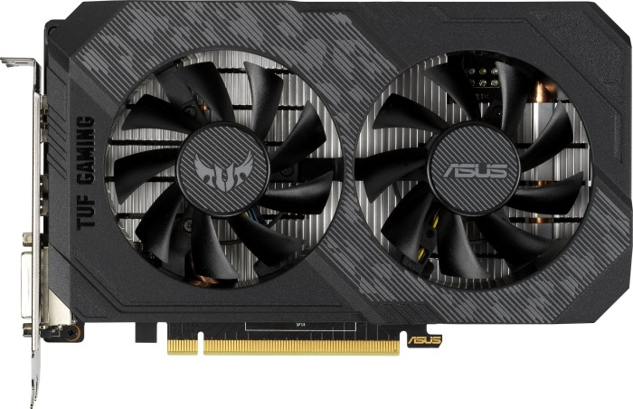 Bild von ASUS TUF Gaming GeForce GTX 1650 P, TUF-GTX1650-4GD6-P-GAMING, 4GB GDDR6, DVI, HDMI, DP (90YV0EZ0-M0NA00)