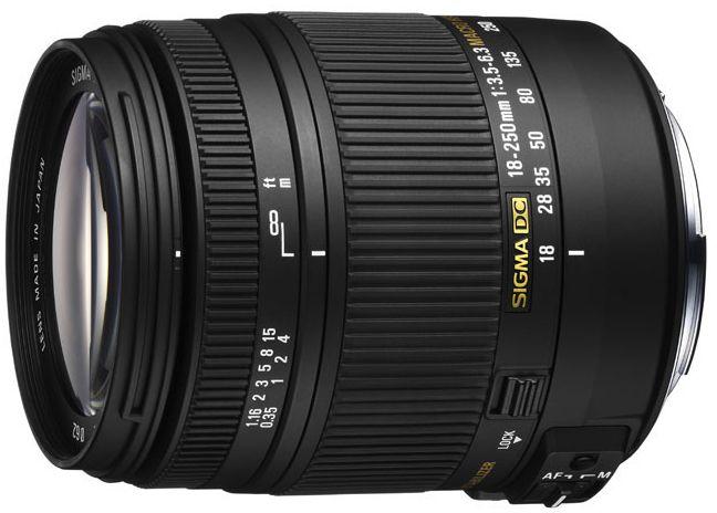 Sigma AF 18-250mm 3.5-6.3 DC Makro OS HSM für Nikon F schwarz (883955)
