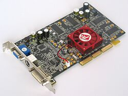 HIS (ENMIC) Excalibur Radeon 9000 Pro ViVo, 64MB DDR, DVI, VIVO, AGP (275/275)