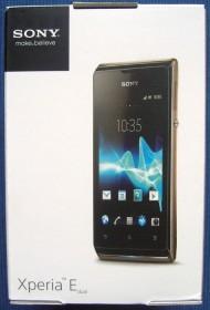 Sony Xperia E with branding