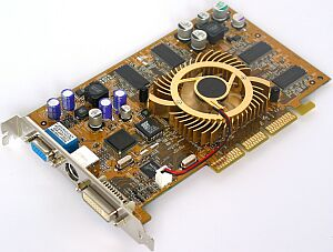 HIS Graphic Master GeForce4 Ti4200, 64MB DDR, DVI, TV-out, AGP