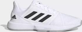 adidas Courtjam Bounce cloud white/core black/matte silver (Herren) (EF2480)