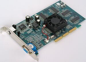 HIS (ENMIC) Graphic Master GeForce4 MX440, 64MB DDR, TV-out, AGP