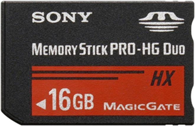 Sony Memory Stick [MS] Pro-HG Duo 16GB (MSHX16B)