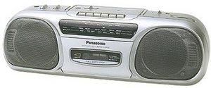 Panasonic RX-FS430 srebrny