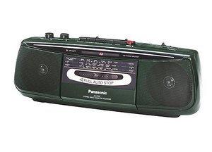 Panasonic RX-FS22 zielony