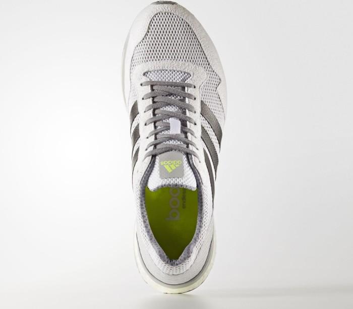 adidas adizero Adios 3 footwear white trace grey metallic solar yellow ab €  223 e760ebeb2