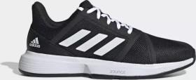 adidas Courtjam Bounce core black/cloud white/matte silver (Herren) (EG1136)