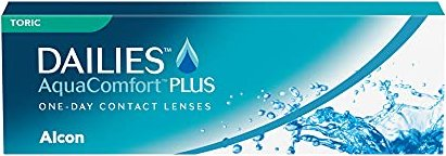 Alcon Dailies AquaComfort Plus Toric, +4.00 diopters, 30-pack