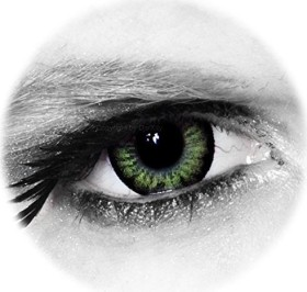 Colourvue Big Eyes Farblinse Party Green, 2er-Pack