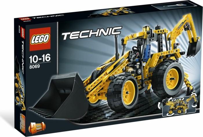 LEGO Technic Baustelle - Baggerlader (8069) -- via Amazon Partnerprogramm