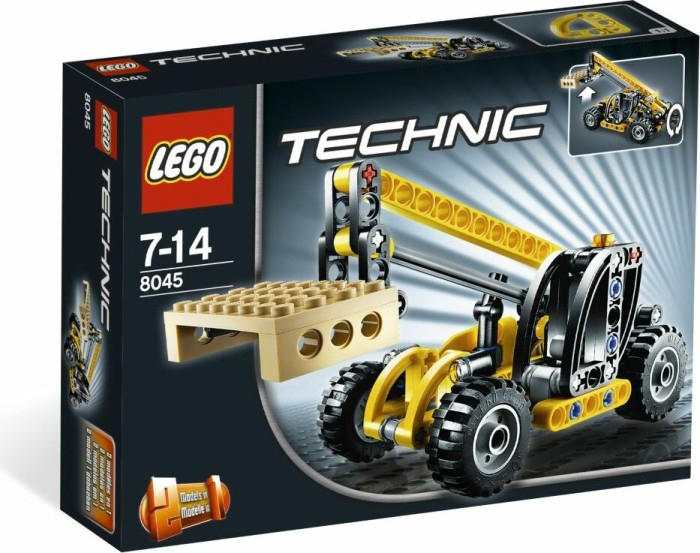 LEGO - Technic Construction - Mini Telehandler (8045) -- via Amazon Partnerprogramm