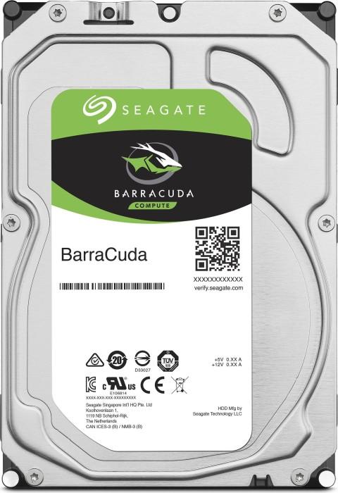 "Seagate BarraCuda Compute 4TB, 3.5"", 64MB, SATA 6Gb/s (ST4000DM005)"