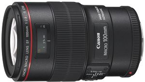 Canon Objektiv EF  100mm 2.8 L Makro IS USM (3554B005)