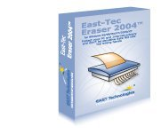 East-Tec: Eraser Professional Edition 2004 (PC)