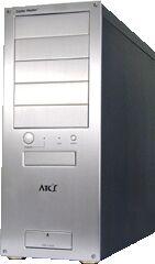 Cooler Master ATC-100 Midi-Tower aluminum (various colours, various Power Supplies)