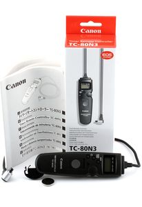 Canon TC-80N3 zdalny samowyzwalacz (2477A007) -- http://bepixelung.org/13723