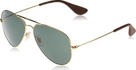 Ray-Ban RB3558 58mm gold/green classic (RB3558-001/71)