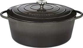 Küchenprofi Provence stew pot oval black 35cm 8.9l (0402001035)