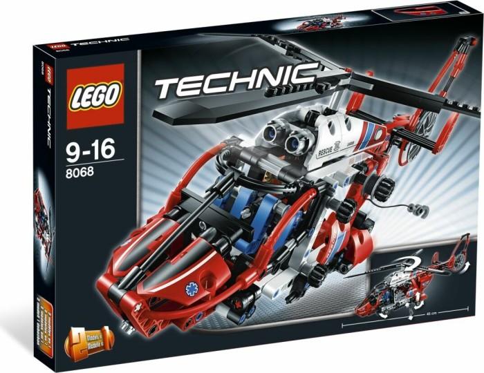 lego technic fahrzeuge rettungshubschrauber 8068. Black Bedroom Furniture Sets. Home Design Ideas