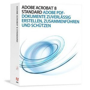 Adobe: Acrobat 8.0 Standard (deutsch) (PC) (22002166)