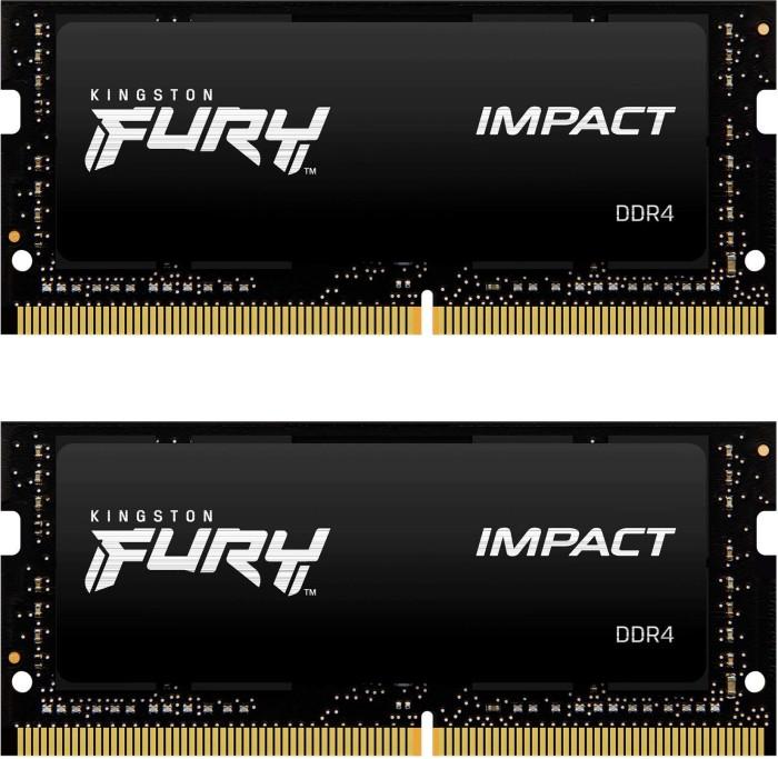 Kingston HyperX Impact SO-DIMM Kit 32GB, DDR4-2400, CL14-14-14 (HX424S14IBK2/32)