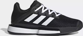 adidas Solematch Bounce Hard Court core black/cloud white (Damen) (EG1137)