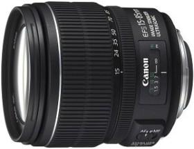 Canon EF-S 15-85mm 3.5-5.6 IS USM schwarz (3560B005)