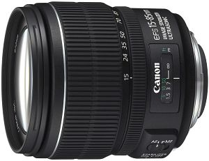 Canon Objektiv EF-S   15-85mm 3.5-5.6 IS USM (3560B005)