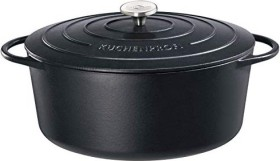 Küchenprofi Provence stew pot oval black 40cm 12.5l (0402001040)