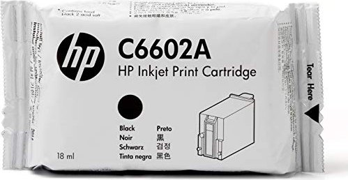 HP C6602A Extended TIJ 1.0 Printhead with Ink black -- via Amazon Partnerprogramm
