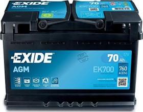 Exide AGM EK700