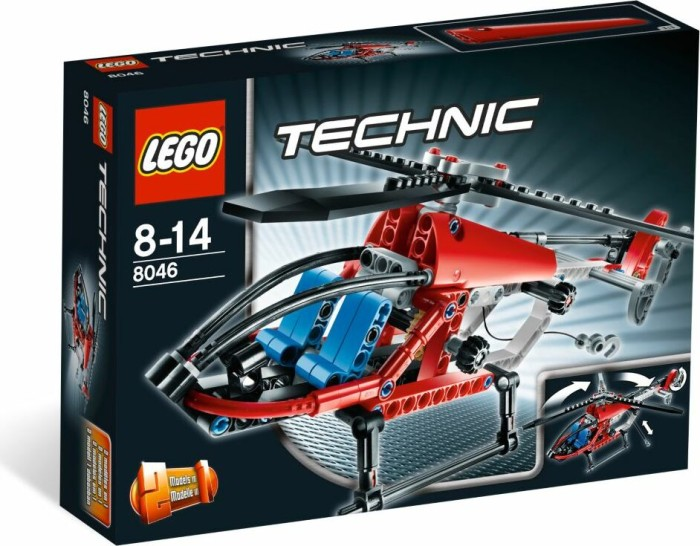 LEGO - Technic Speeed - Helicopter (8046) -- via Amazon Partnerprogramm