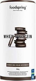 Foodspring Whey Protein Cookies & Cream 750g
