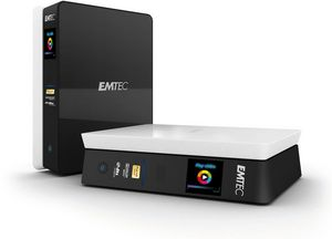 Emtec Movie Cube S800H 1000GB, USB 2.0/LAN (EKHDD1000S800H)