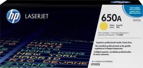 HP Toner 650A gelb (CE272A)