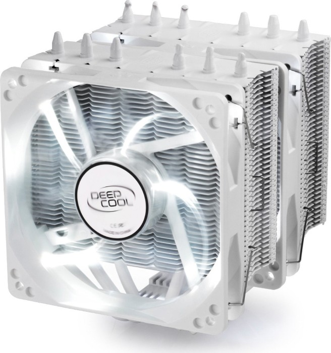DeepCool Neptwin V2 White (DP-MCH6-NT-WH)
