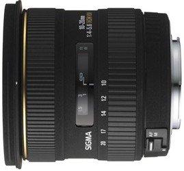 Sigma AF 10-20mm 4.0-5.6 EX DC HSM für Canon EF schwarz (201927)
