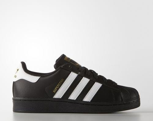 the latest 14cb0 5d8c1 adidas Superstar Foundation core black ftwr white (Junior) (B23642 ...