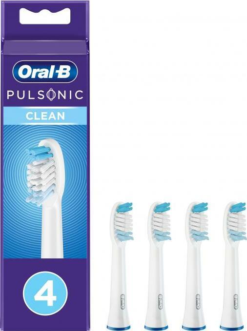 Oral-B Aufsteckbürsten Pulsonic Clean, 4er-Pack