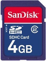 SanDisk SDHC 4GB, Class 2 (SDSDB-004G-B35)