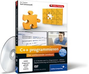 Galileo Design: C++ programmieren - Das Video-Training (deutsch) (PC/MAC/Linux) (978-3-8362-1635-7)