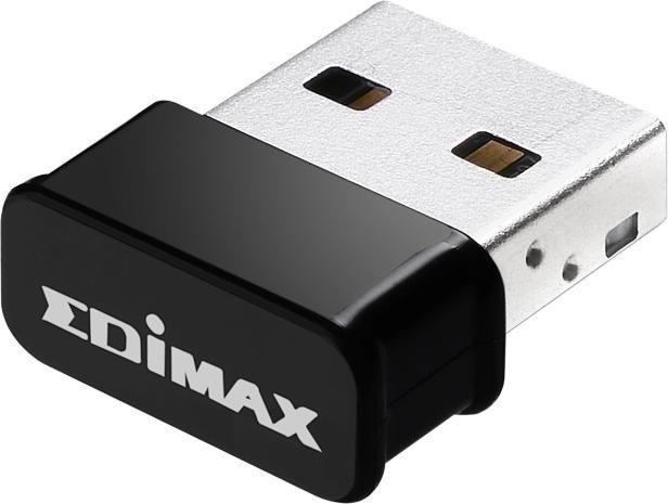 Edimax EW-7822ULC, 2.4GHz/5GHz WLAN, USB-A 2.0