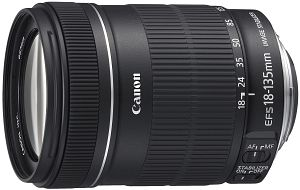 Canon EF-S 18-135mm 3.5-5.6 IS black (3558B005)