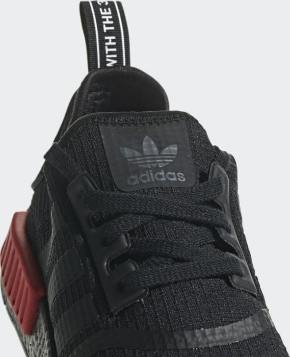 0b971ebbf4863 adidas NMD R1 core black core black lush red ab € 149