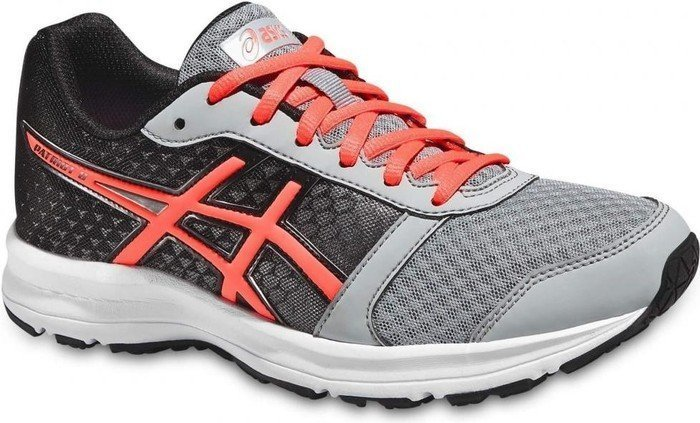 Asics Patriot 8 silver grey/flash coral/black (Damen) (T669N-9606)