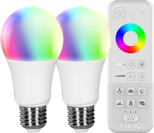 Müller Licht tint white+color LED Birne E27 9.5W Starter-Kit (404013)